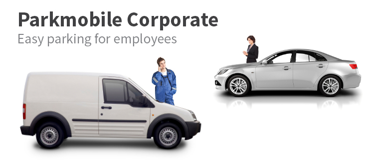 ParkMobile Corporate: Easy parking for employees